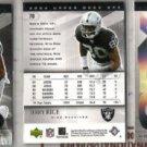 JERRY RICE 2004 Upper Deck SPX (3) Card Lot - Raiders