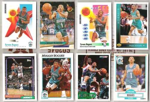 MUGGSY BOGUES (12) Card Lot - HORNETS