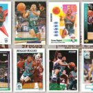 MUGGSY BOGUES (12) Card Lot - HORNETS