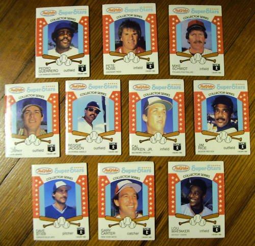 (20) True Value Set Loaded with Stars HOF - Sharp 1986