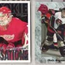 CHRIS OSGOOD (4) Lot w/ 91 Classic Draft, 94 Parkhurst+