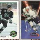 MIKAEL NYLANDER (4) Lot w/ 1993 Ultra Prospects Insert+