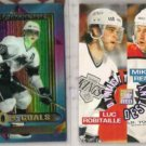 LUC ROBITAILLE 1994 Finest Premier Ins + SC Dynasty Ins