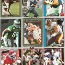 NFL Action Packed (9) Card mix w/ SMERLAS, WATTERS++
