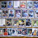 1984 Fleer MLB (33) Card Lot w/ Stars / HOF - Sharp