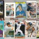 (10) KEVIN McREYNOLDS Cards w/ 92 Black GOLD, 87 Fleer+