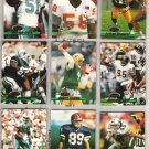 NFL 1993 Stadium Club (9) Lot w/ FAVRE, DENT, MOOSE++