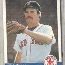 WADE BOGGS 1984 Fleer #392.  Red Sox
