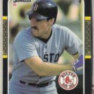 WADE BOGGS 1987 Donruss #252.  Red Sox