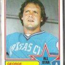 GEORGE BRETT 1983 Topps AS #388.  ROYALS