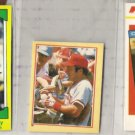 JOHNNY BENCH 1982, 1984 + 1987 Odds w/ mini + Drakes
