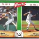 STEVE AVERY 1992 French's Player Series #18 of 18 w/ J. Morris