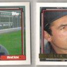 JACK CLARK 1992 Topps GOLD Insert w/ sister card