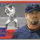 JEFF BAGWELL 2000 Fleer Dividends Insert #7 of 15.  ASTROS