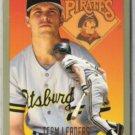 ANDY VAN SLYKE 1994 Fleer Team Leaders Insert #25 of 28.  PIRATES