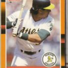 JOSE CANSECO 1988 Donruss #22.  A's