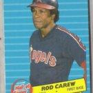 ROD CAREW 1986 Fleer HOF Insert #4 of 6.  ANGELS
