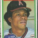 ROD CAREW 1981 Topps AS #100.  ANGELS