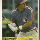 BUCKY DENT 1984 Donruss #300.  RANGERS