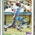 ANDRE DAWSON (2) Card Lot:  1982 + 1983 Topps  EXPOS
