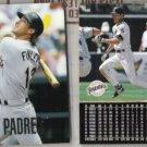 STEVE FINLEY (2) 1998 Upper Deck #208.  PADRES