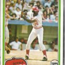 GEORGE FOSTER 1981 Topps #200.  REDS