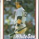 CARLTON FISK 1989 Topps #695.  WHITE SOX