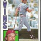 GARY GAETTI 1984 Topps #157.  TWINS