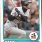 OZZIE GUILLEN 1988 Score Young Superstars #21 of 40.  WHITE SOX