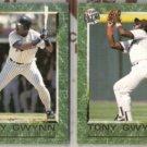 TONY GWYNN (2) 1992 Ultra Career Highlights Inserts.  PADRES