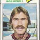 BOB GRICH 1977 Topps #521.  ANGELS