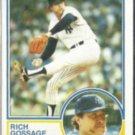 RICH GOSSAGE 1983 Topps #240.  YANKEES