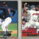 DOC GOODEN 1998 UD + 2000 Topps INDIANS (2) Card Lot