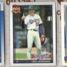 OREL HERSHISER 1990, 1991 + 1992 Topps.   DODGERS