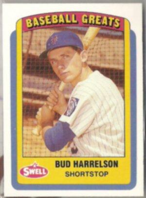 BUD HARRELSON 1990 CMC Swell Baseball Greats #111.  METS
