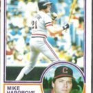 MIKE HARGROVE 1983 Topps #660.  INDIANS