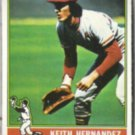 KEITH HERNANDEZ 1976 Topps #542.  CARDS