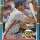 HOWARD JOHNSON 1987 Donruss HL Odd #43.  METS