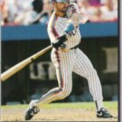 HOWARD JOHNSON 1993 Pinnacle Slugfest Insert #18.  METS