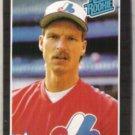 RANDY JOHNSON 1989 Donruss Rated Rookie #42.  EXPOS