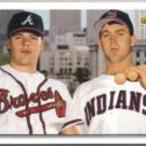 RYAN KLESKO 1992 UD Star Rookie Checklist w/ Jim Thome.