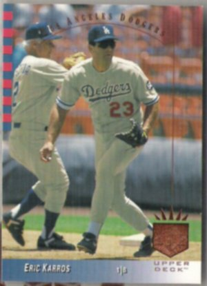 ERIC KARROS 1993 Upper Deck SP #94.  DODGERS.