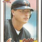RON KITTLE 1991 Topps #324.  ORIOLES