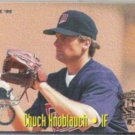 CHUCK KNOBLAUCH 1995 Fleer All Star Insert #10 of 25.  TWINS