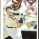 JOHN KRUK 1994 Fleer Sunoco Insert #15 of 25.  PHILLIES