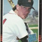 STEVE LYONS 1985 Donruss Rated Rookie #29.  RED SOX