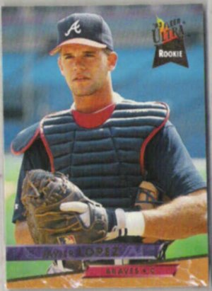 Javier Lopez 1993 Fleer Ultra Rookie 9 Braves