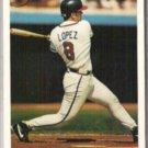 JAVIER LOPEZ 1993 Bowman Rookie #466.  BRAVES