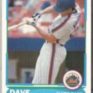 DAVE MAGADAN 1988 Score Young Star #23 of 40.  METS
