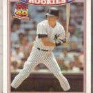 KEVIN MAAS 1991 Topps Glossy Rookies #17 of 33.  YANKEES